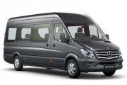 Tourbus Mercedes Sprinter, Extra Long, 9 Seats, Dividing Wall to Cargo Area
